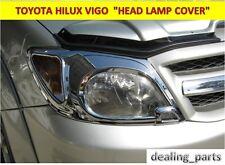 TOYOTA HILUX VIGO MK6  HEAD LIGHT COVER CHROME  2004 - 2011