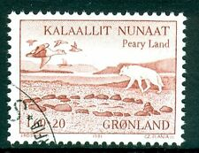 Birds Single Greenlandic Stamps