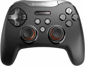 SteelSeries Stratus XL Gaming Wireless Controller 14 Buttons For Android Black