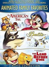 Animated Film Favorites    (2 DVD set, 2007)   Balto   An American Tail & MORE