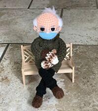Bernie Sanders crochet doll pattern, Bernie Sanders In a Chair, PDF download