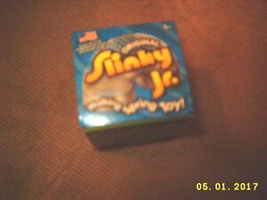 Original Slinky Jr Metal Spring Toy or Bird Feeder Squirrel Repellent New In Box
