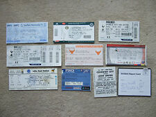 ticket unused + stub tottenham spurs v whu west ham 25/11/12