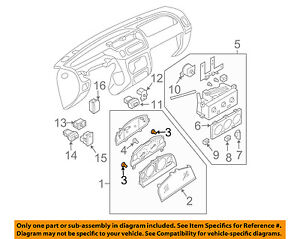 NISSAN OEM Cluster Switches-Bulb & Socket 2626201P40