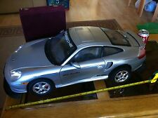 Porsche Remote Control Giant Car 27 inches Long over 2 feet Silver New Bright RC