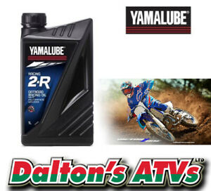 YAMALUBE RACING 2-R OFFROAD OIL FULLY SYN 2 STROKE PETROL PRE-MIX MOTOCROSS YZ