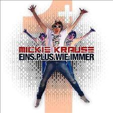 """MICKIE KRAUSE """" EINS PLUS-WIE IMMER""""  CD NEUWARE"""