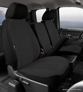 2014-2019 GMC Sierra Yukon Chevy Silverado Factory Fit Custom Black Seat Covers