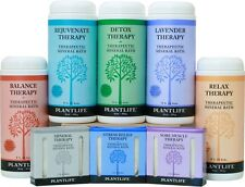 Therapeutic Mineral Bath SaltS by Plantlife Natural Body Care - 16oz
