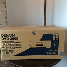 Denon DVD-2900 SACD Player Boxed