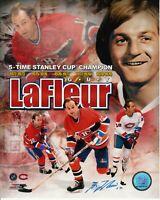 Guy Lafleur Montreal Canadiens Autographed Signed 8x10 Photo