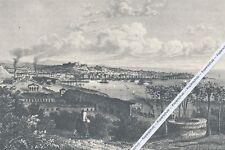 Triest um 1855  - -  Edler Kunstdruck um 1955 -  N 21-12