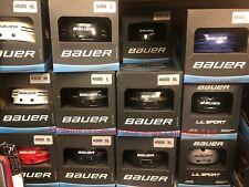 Bauer 4500 Ice Hockey Helmet! Black Blue Red White Inline Roller Csa Hecc Ce