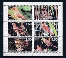 Tuva: Birds - Good Set of Very Fine MNH Stamps