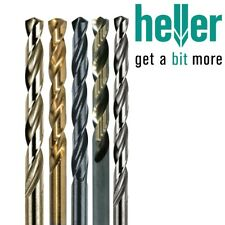 PROFESSIONAL GERMAN HELLER HSS DRILL BITS Cobalt Titanium Micro Long ALL SIZES