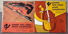GREATER TWIN CITIES YOUTH SYMPHONIES 2 SEALED RECORD ALBUMS