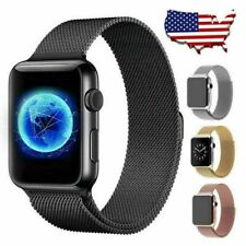 Milanese Stainless Steel Watch Band Strap For Apple Watch 5 4 3 2 1 38mm 40mm