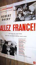 ALLEZ FRANCE  !robert dhery affiche cinema 1964