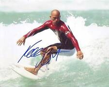 Kelly Slater Signed Autographed 8x10 Surfing Surfer Photograph