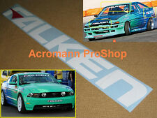 "28"" 71cm FALKEN windshield decal sticker d1 drift tire JDM bonnet hood window gp"