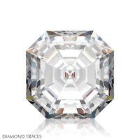 1.02ct H-VS1 Ideal Pol. Asscher Cut AGI 100% Genuine Diamond 5.50x5.45x3.70mm