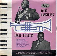 "Louis Armstrong rencontre Oscar Peterson -Barclay-Verve – 3649-10""- France1960"