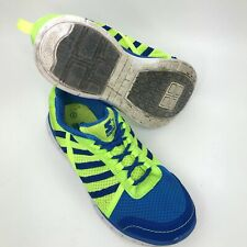 Starter Shoes Blue & Green Mens Size 5 Mesh Lightweight Running Athletic Play