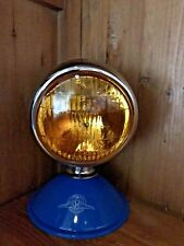 Chrome Teardrop Amber Vintage Fog Light