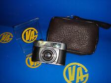 Camara vintage compacta ADOX coleccionismo 1:2,8/45 con funda