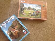 Two Vintage Puzzles By Falcon And Arrow Games