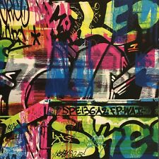 Graffiti Street Art Kids Wallpaper by Rasch - Multi 291506