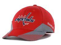 Washington Capitals Reebok M252Z NHL Pro Shape Practice Flex Fit Hockey Cap Hat
