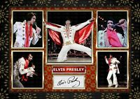 ELVIS PRESLEY - Elvis On Tour - SIGNED ORIGINAL A4 PHOTO PRINT MEMORABILIA
