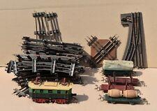 Train ancien échelle O de la marque LR – Locomotive Wagons Rails Aiguillage