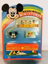 Micky Mouse Miniature Mickey Mouse School Brand New in Box Never Opened