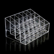 Makeup Case Storage Display Cosmetic Organizer Lipstick Holder Clear Acrylic 24