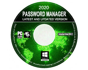 Pro And Secure Encrypted Password Manager - Auto Log In For Windows PC DVD