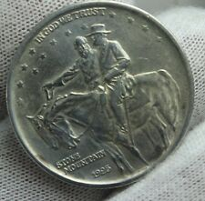 1925 Stone Mountain Commemorative Half Dollar SILVER COIN HIGH GRADE