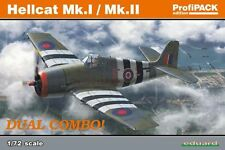 Eduard 1/72 Model Kit 7078 Grumman Hellcat Mk.I / Mk.II Dual Combo