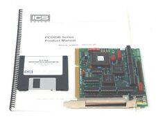 USED INDUSTRIAL COMPUTER SOURCE PCDIO24B/48B-P INTERFACE BOARD W/ DRIVER DISK