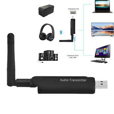 USB 3.5MM Bluetooth Wireless A2DP Audio Stereo Adapter Transmitter For TV DVD PC