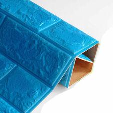 3D PE Foam Brick DIY Wallpaper Panels Wall Stick Room Stone Decal Embossed