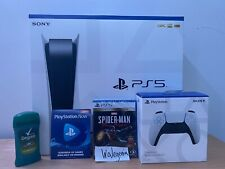 PlayStation 5 Sony Ps5 Disc Version Console DEODORANT BUNDLE FREE OVERNIGHT SHIP