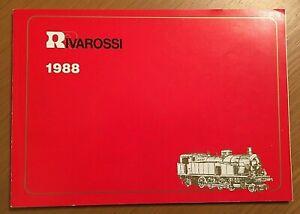Rivarossi HO catalogo 1988