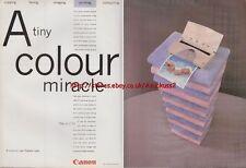 Canon BJC-70 Printer 1995 Magazine Advert #940