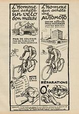 Y9455 Cycles AUTOMOTO - Pubblicità d'epoca - 1925 Old advertising