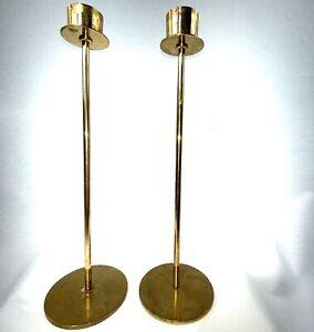 Hans Agne Jakobsson Brass Candlesticks Sweden