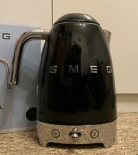 Smeg KLF04CRUK Temperature Controlled Kettle, Black