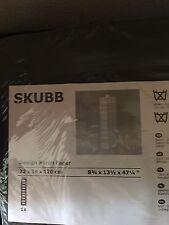 One Ikea Skubb Hanging Clothes Closet Storage Shoes Organizer Rack Black, New