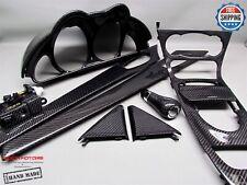 Mercedes 2005-08 R230 SL63 Gloss Finish 11 Pc Carbon Interior Complete Trim Kit